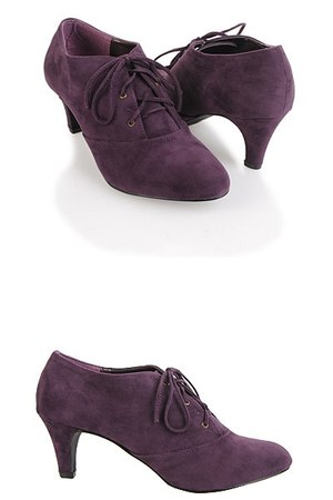 purple Forever21 shoes