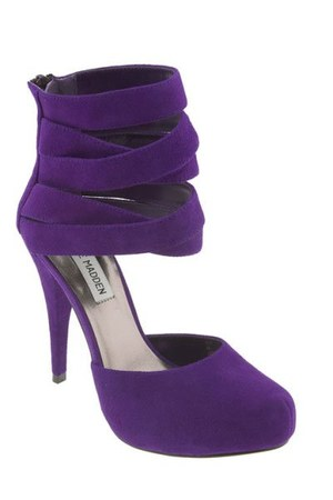 deep purple Steve Madden shoes