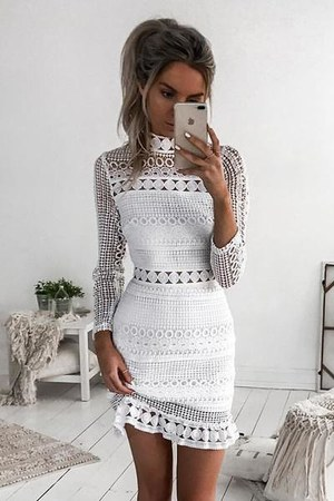 white Xenia Boutique dress