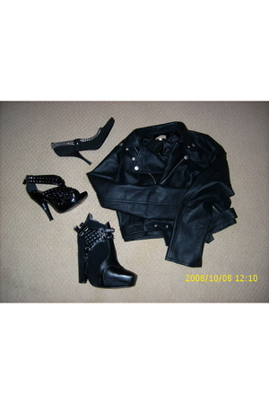 Louis Vuitton shoes - Burberry shoes - sam edelman shoes - No Namer jacket