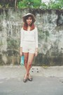 Off-white-floppy-hat-cotton-on-hat-ivory-lace-lulu-castagnette-sweater