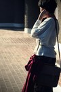 Crimson-h-m-scarf-brown-satchel-blanco-bag-white-oversized-primark-t-shirt-
