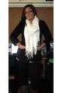 Black-miley-cyrus-max-azria-blazer-white-pier-1-imports-scarf-black-victoria
