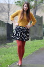 Mustard-george-at-asda-sweater-black-worn-as-a-skirt-new-look-dress