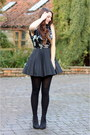 Black-george-at-asda-boots-black-sequined-jones-and-jones-dress
