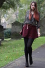 Crimson-cord-american-apparel-skirt-black-woollen-old-tights