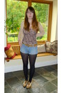 Tawny-brogues-new-look-shoes-black-m-s-tights-blue-denim-la-redoute-shorts-