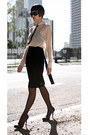 Neutral-villa-blouse-black-hugo-boss-skirt-black-untitled-stockings