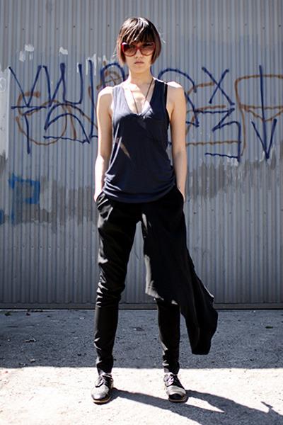 black Marlies Dekkers bra - black Unconditional pants