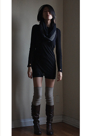 Alexander Wang scarf - LD Tuttle boots - untitled socks