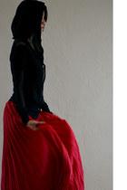 light brown ann demeulemeester boots - black rick owens lilies jacket