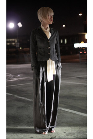 Carin Wester pants - marsell boots - haute hippie blazer - asos blouse