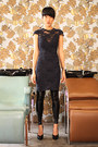 Lagence-dress-black-milk-leggings-premiata-pumps