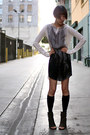White-insideout-dress-gray-marsell-boots