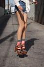 Blue-7-for-all-mankind-shorts-burnt-orange-untitled-socks