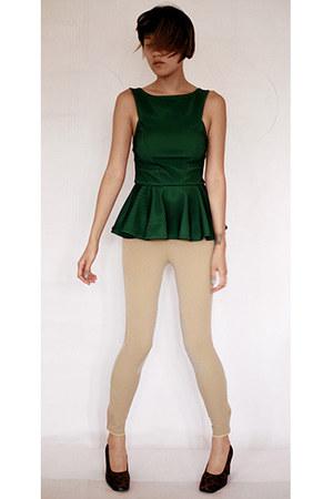 asos top - On Course pants - Sonia Rykiel pumps