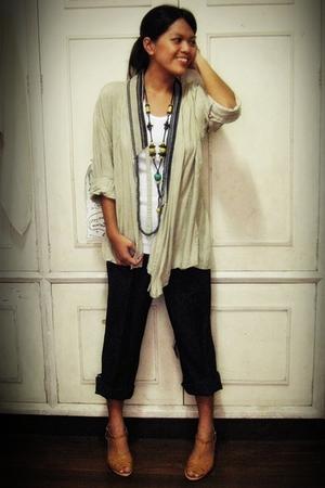 blouse - pants - shirt - accessories