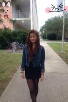 jeans PacSun jacket - black Forever 21 dress