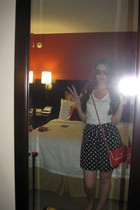 Forever21 t-shirt - Forever21 skirt - Top Shop purse - Hot Topic sunglasses