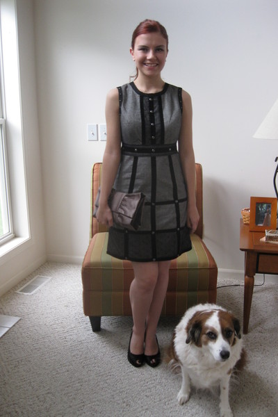 Anna Sui dress - unknown purse - Unlimited shoes
