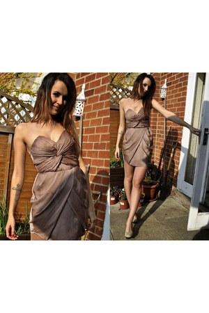 sexy H&M dress - elegant next heels