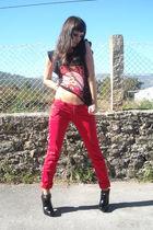 D&G shirt - Bershka pants - Hugo Boss boots