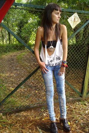 Zara shoes - Bershka jeans