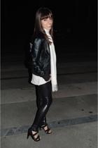 accessories - jacket - blouse - panties - shoes