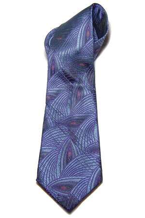 deep purple San Babila tie