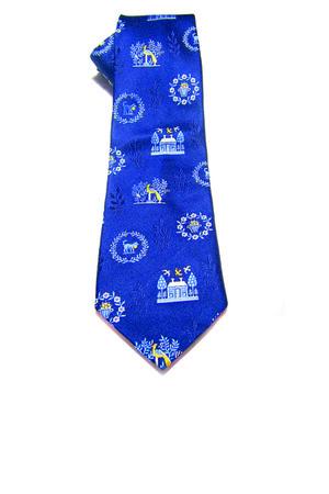 blue Yapre tie - sky blue Equeglitz tie - yellow Etsy tie
