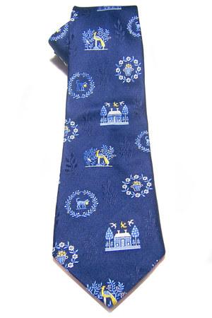 blue Yapre tie
