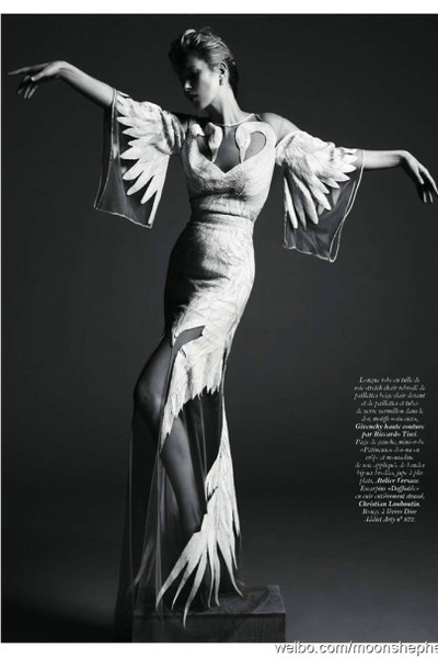 white swan dress Givenchy dress