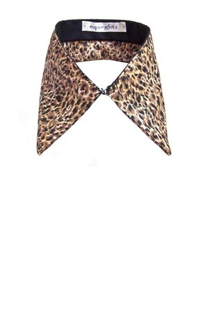 light brown Etsy scarf - black cotton Equeglitz accessories