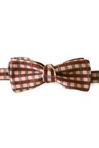 Brick-red-equeglitz-tie