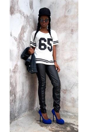 pull&bear t-shirt - H&M pants