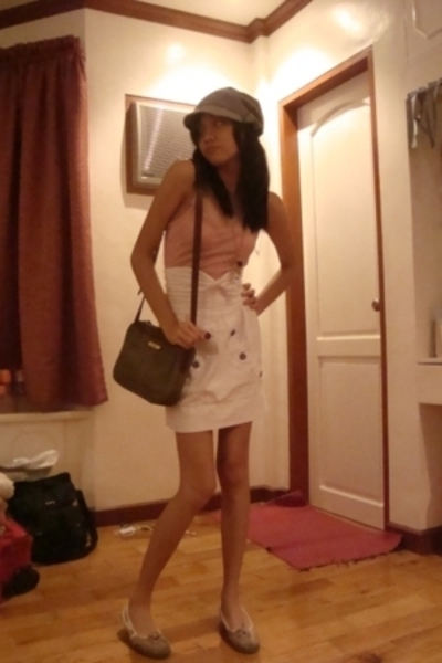 H&M hat - Bazaar skirt - Polo Ralph Lauren purse - I forgot top - Greenhills sho