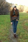 Dark-brown-cheerio-seychelles-boots-navy-skinny-pacsun-jeans