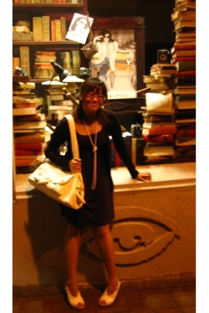 portmans dress - Glassons top - Mollini shoes - San Michelle accessories