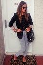 Black-complot-blazer-black-complot-bag-heather-gray-zara-pants