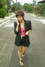 H-m-top-blazer-promod-accessories-vintage-shorts-dorothy-perkins-shoes-