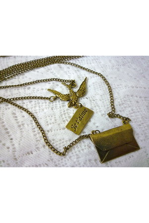you know u love me necklace