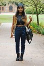 Leather-doc-martens-boots-gold-studs-nordstrom-bag-snakeskin-pacsun-top