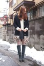 Black-feather-coat-velnica-coat-black-nadesico-boots-white-sacra-sweater