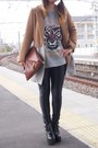 Camel-croon-a-song-coat-black-busted-jeffrey-campbell-boots-brown-dholic-bag