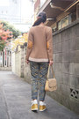 Light-brown-muveil-sweater-cream-my-moms-old-bag-vintage-bag