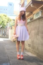 eggshell American Apparel belt - light purple American Apparel dress