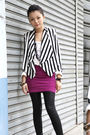 Pink-bershka-skirt-white-h-m-blazer-white-unknown-brand-shirt-black-k-2-ac
