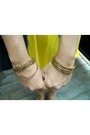 Yellow-snagged-from-my-store-dress-mango-vincci-gold-de-moda-bracelet-si