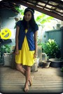Yellow-snagged-from-my-store-dress-mango-vincci-gold-de-moda-bracelet-si