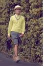Light-yellow-long-sleeved-h-m-shirt-black-briefcase-simon-apparel-bag